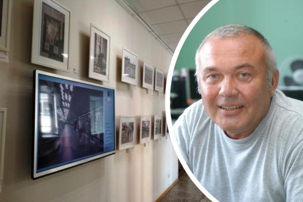Посмотреть на работы фотографа можно в галерее НГОНБ на втором этаже