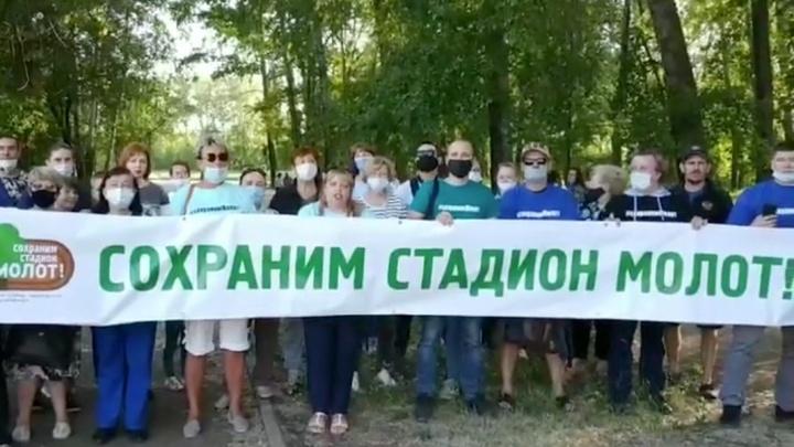 Суд оштрафовал противницу застройки стадиона «Молот» — она участвовала в записи видеообращения к Путину