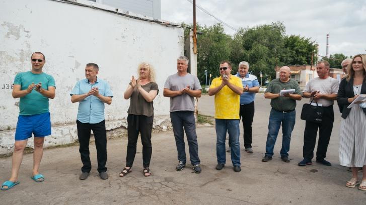 Коллеги по цеху пришли поддержать Василия