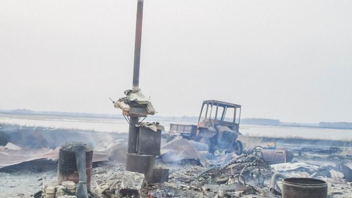 Какой была деревня Каракуль и что от нее осталось после пожара: фоторепортаж