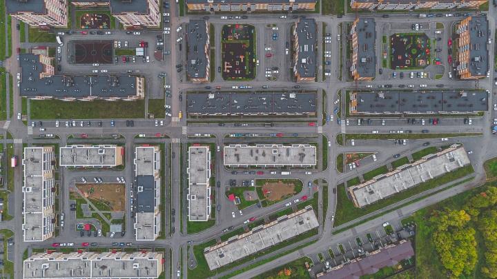 Пермь с высоты. Сможете ли вы узнать городские кварталы по снимкам с воздуха?