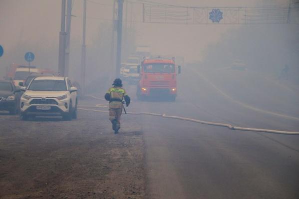 В Кургане за два дня произошло два крупных пожара. Мэр Андрей Потапов просит горожан соблюдать правила пожарной безопасности
