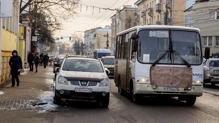 «Никакой управы на них нет»: ярославцы пожаловались на перебои в работе маршруток
