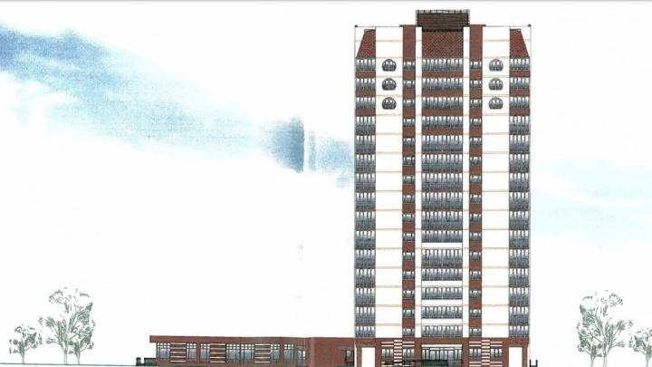 Омская мэрия разрешила компании «Стройбетон» строительство многоэтажки в Амуре