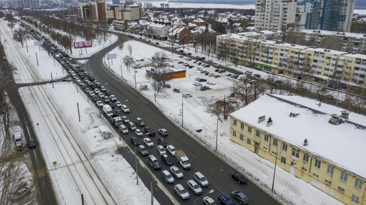 В Самаре составили график перекрытия Ново-Садовой: даты и схема проезда