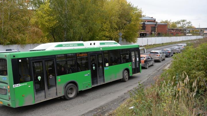 Транспорт для спящих: сколько времени автобусы из Компрессорного едут в центр через пробки