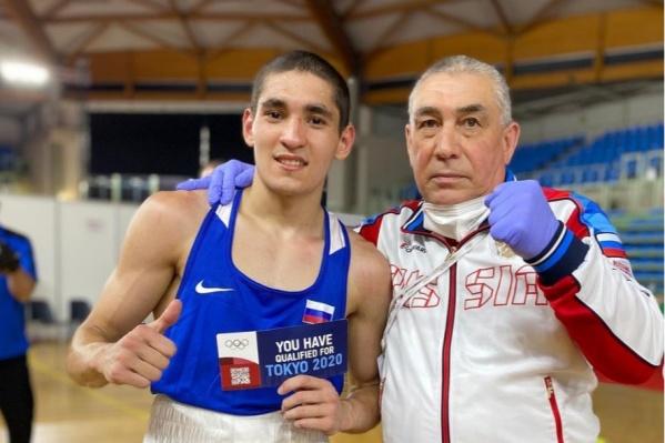 Альберт Батыргазиев выходит на ринг побеждать