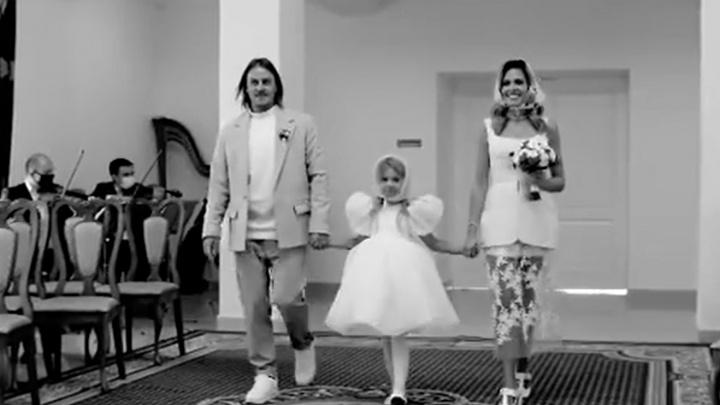 Мария Горбань показала свадебное видео