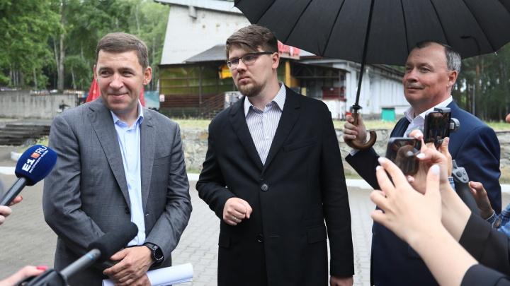 Губернатор пообещал помочь восстановить заброшенный театр в ЦПКиО. Показываем, как он выглядит сейчас