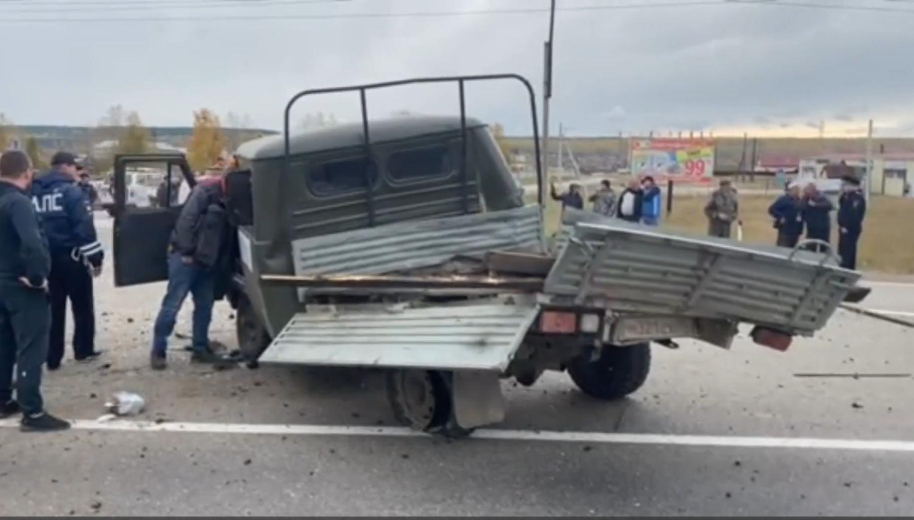 Кадр из видео ГУ МВД по Иркутской области