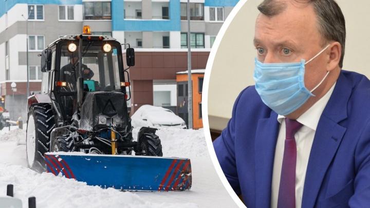 Еще больше совещаний. Временный мэр оправдался за плохую уборку снега и рассказал, как все исправит