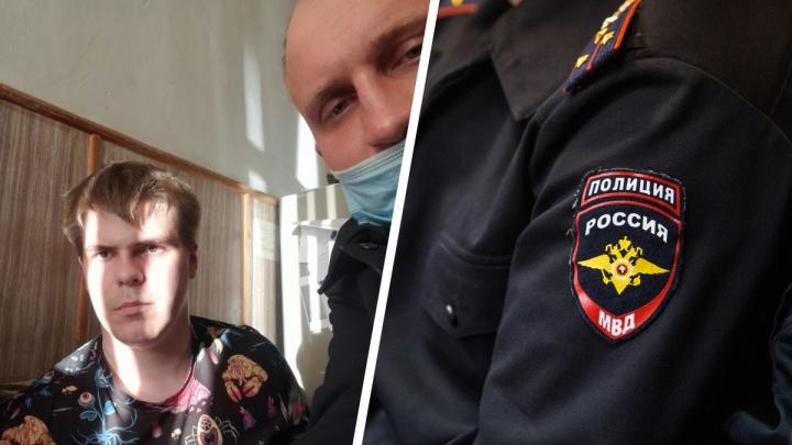 «Свет в квартире вырубили, чтобы он вышел»: 18-летнего новосибирца задержали за пост на странице во «ВКонтакте»