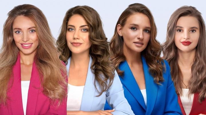 Четыре молодые красавицы из Новосибирска вышли в полуфинал конкурса «Мисс Офис» — что они рассказывают о себе