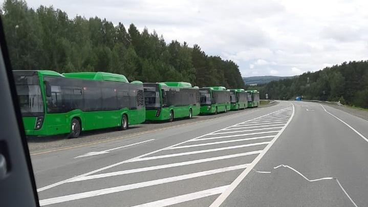 В Екатеринбург скоро приедет новая партия больших газовых автобусов