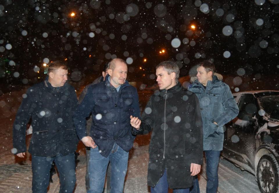 На ночные расчистки снега Панов выезжал регулярно