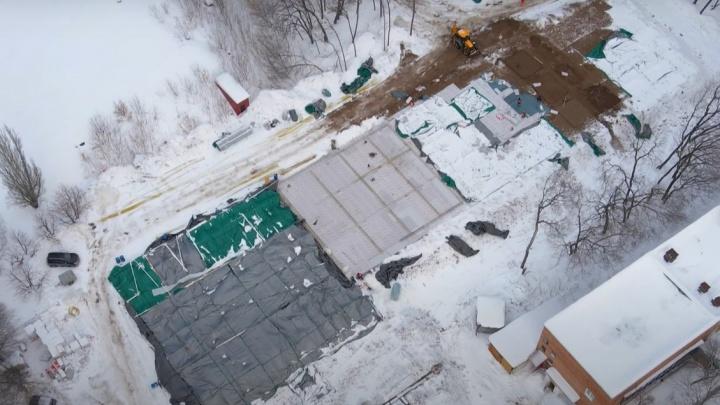 В Самаре заложили фундамент нового COVID-госпиталя