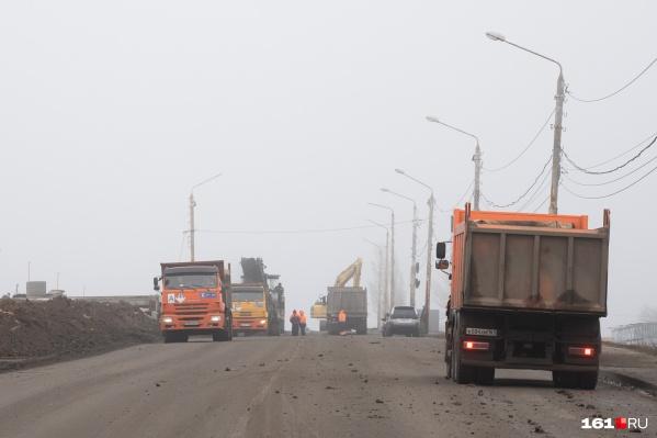Мост закрыт для автомобилей с 4 января