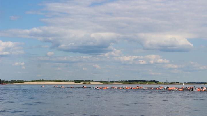Шли по мели и перестраховывались на течение: как прошел заплыв X-Waters Volga 2021 в Нижнем Новгороде