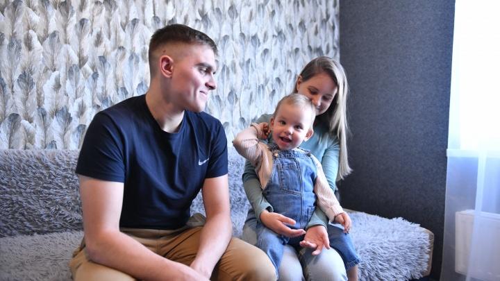 В Екатеринбурге собирают 150 млн на лечение малыша, которому мама раньше врачей диагностировала СМА