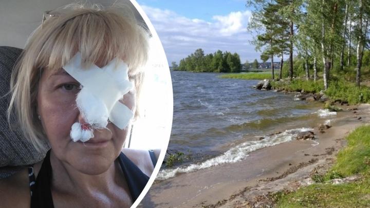 На Урале с кемпинга, сотрудники которого избили туристов, потребовали гигантскую компенсацию за ущерб природе