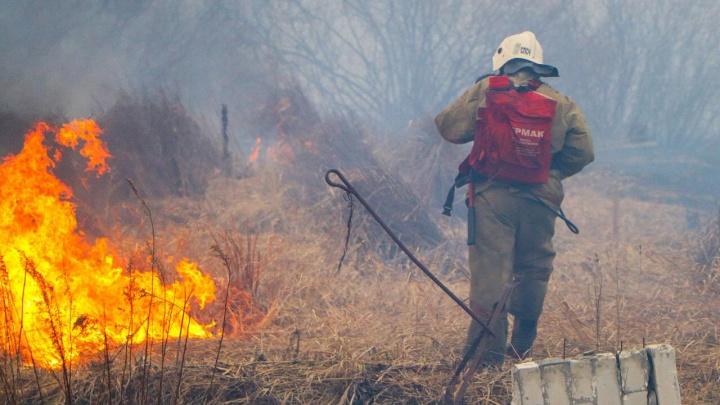 В Курганской области за майские праздники произошло свыше 300 пожаров
