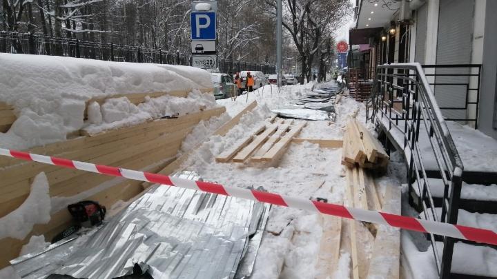 Семье пермячки, погибшей при обрушении перехода на Краснова, выплатят 500 тысяч рублей