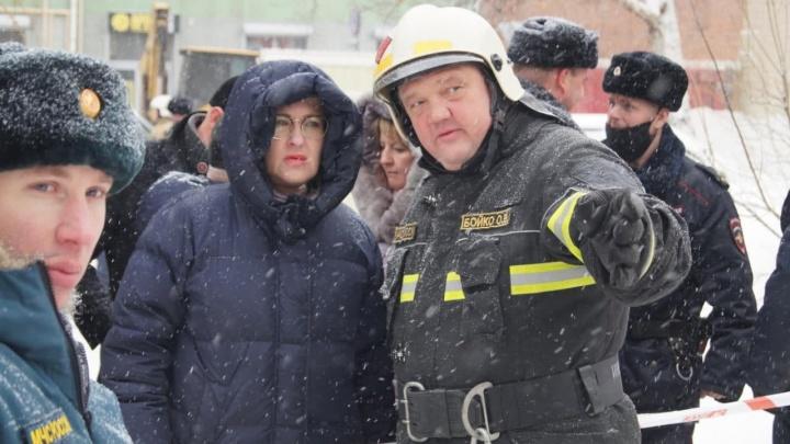 Начальник ГУ МЧС прокомментировал обрушение дома на Галактионовской