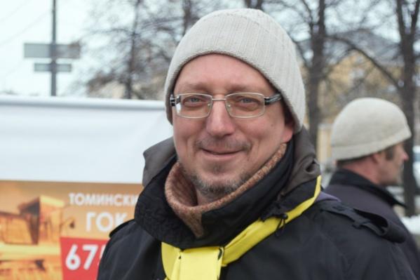 Лидер движения «Стоп ГОК» Василий Московец обвиняется в подстрекательстве к поджогу