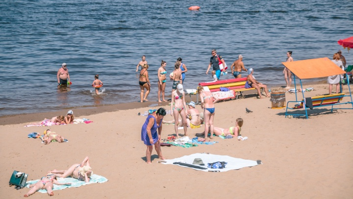 Опасная вода: в Самаре запретили купание на четырех пляжах
