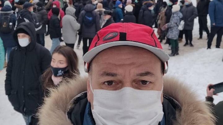 В Перми экс-депутата Константина Окунева арестовали на пять суток после шествия в поддержку Навального