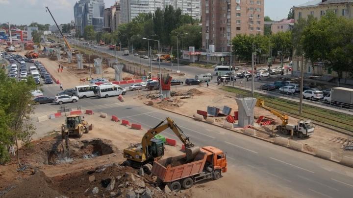«Визуально будет легкой»: как продвинулось строительство развязки на Ново-Садовой