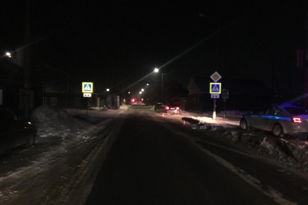 Авария произошла накануне вечером на улице Гайдара
