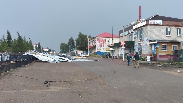 В Башкирии скончалась 14-летняя девочка, на которую обрушилась крыша во время урагана