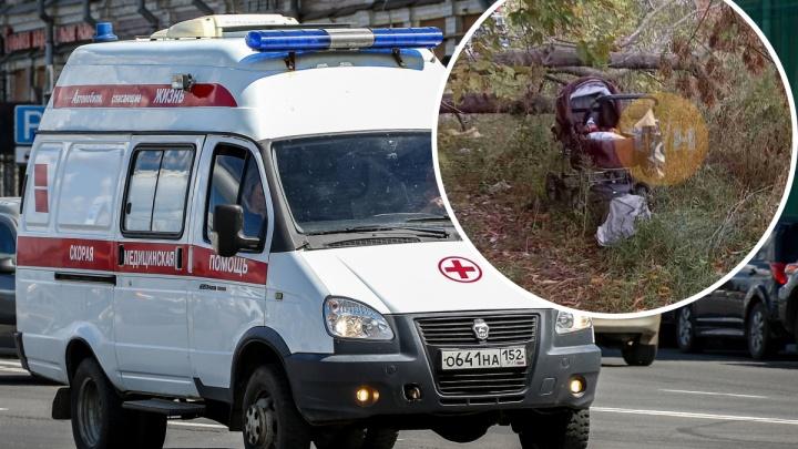 «Коляска стояла в кустах»: брошенного младенца нашли на улице Мончегорской