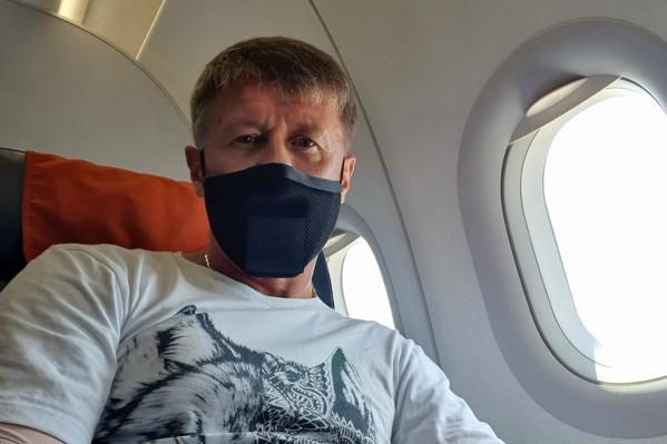 Сергей Исаев поставил прививку после болезни
