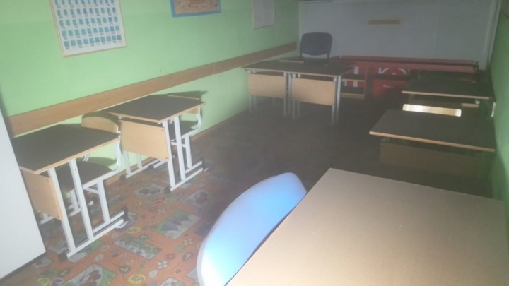 В Екатеринбурге произошел пожар в детском центре