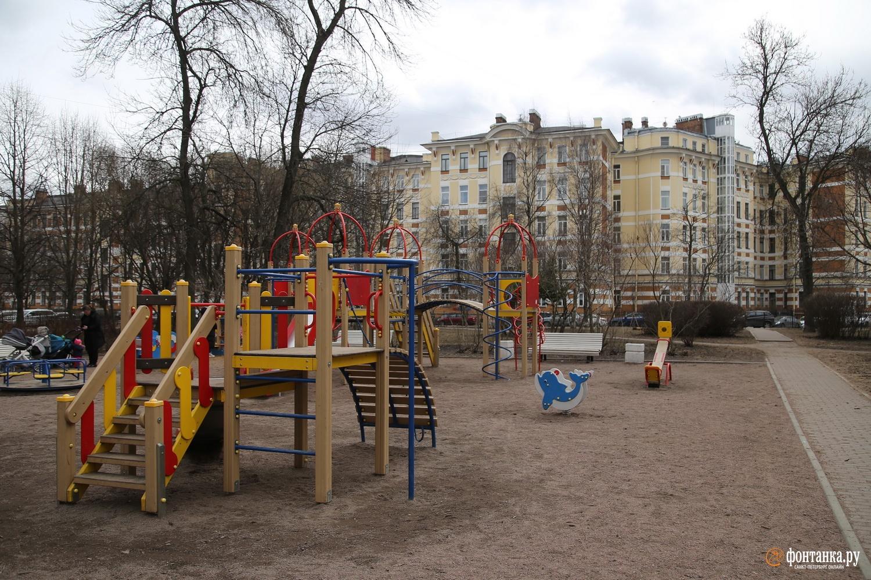 «Калужский сквер» в Центральном районе