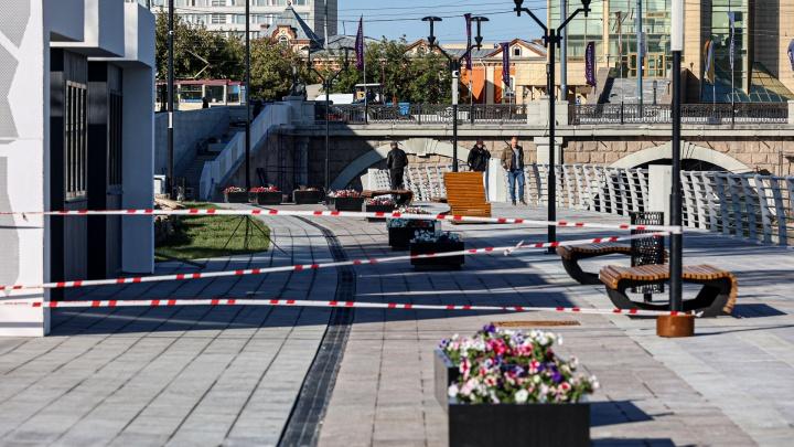 Закрытый показ: смотрим на новую набережную Челябинска накануне презентации