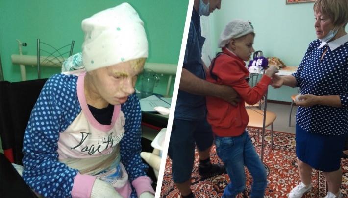 Мы год этого ждали: в Волгоград из области переводят девочку-мученицу, превратившуюся в мумию в интернате
