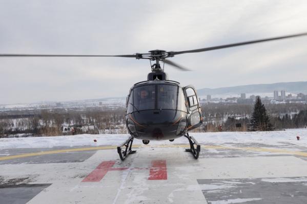 В прошлом году у санавиации появился новый вертолет