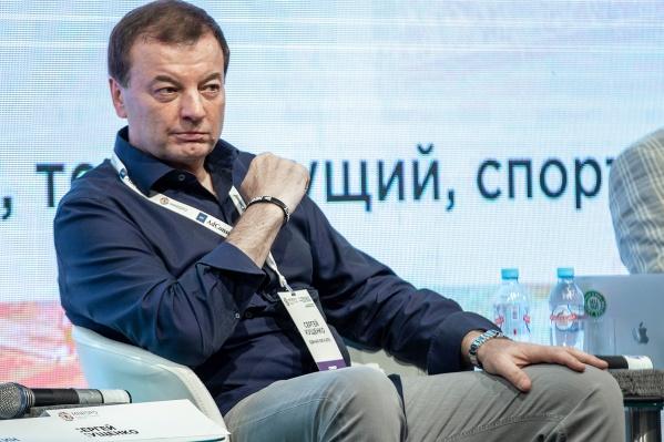 Сергей Кущенко является президентом Единой баскетбольной лиги