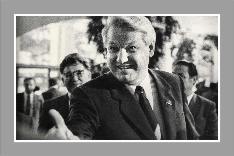 Москва, 1988 год, ХIХ Всесоюзная партийная конференция. Борис Ельцин в то время еще заместитель председателя Госстроя СССР