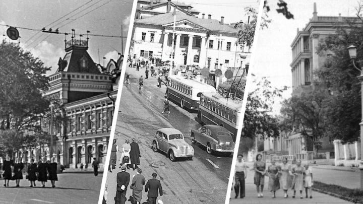 Горький наших бабушек и дедушек. Публикуем подборку редких фотографий 40–50-х годов