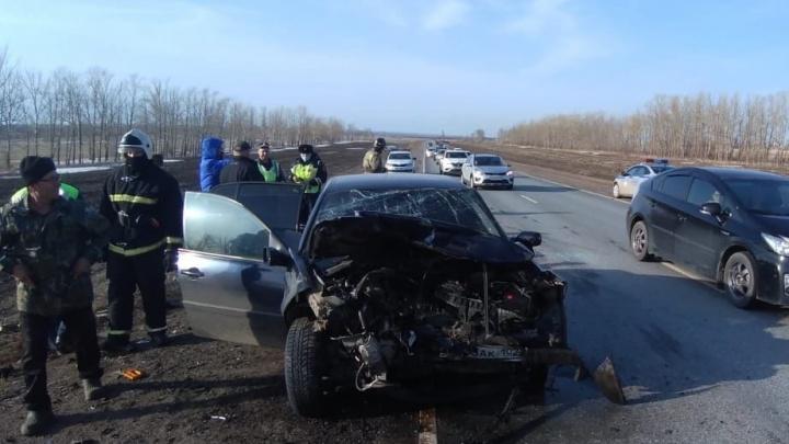 На трассе в Башкирии произошло смертельное ДТП