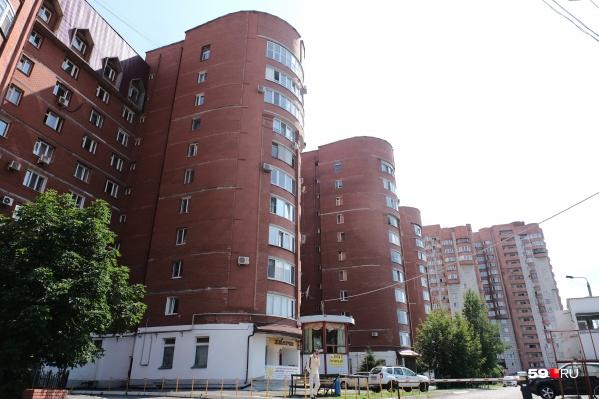 Дом на Петропавловской, 123 строила «Камская долина»