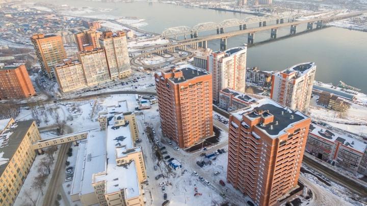 Возле «Орбиты» в Студгородке построят еще один дом для сотрудников СФУ