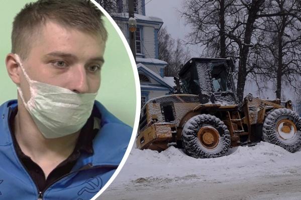 Мужчина рассказал, что угнал трактор из-за ревности