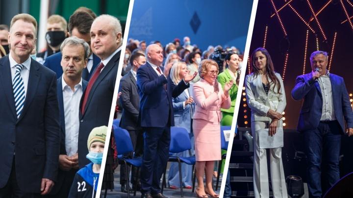 Власти Кузбасса попытались оправдать нарушения масочного режима на крупных мероприятиях. Вышло странно
