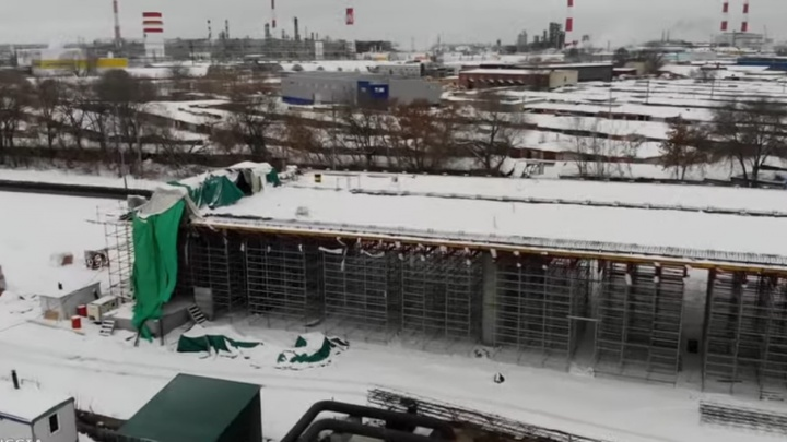 «Мощное видео»: самарский блогер снял с высоты строительство развязки для Фрунзенского моста — 2