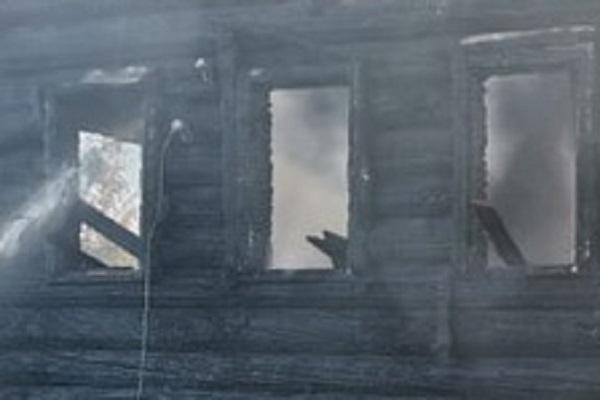 В Плесецком районе сгорел жилой дом. Погиб человек